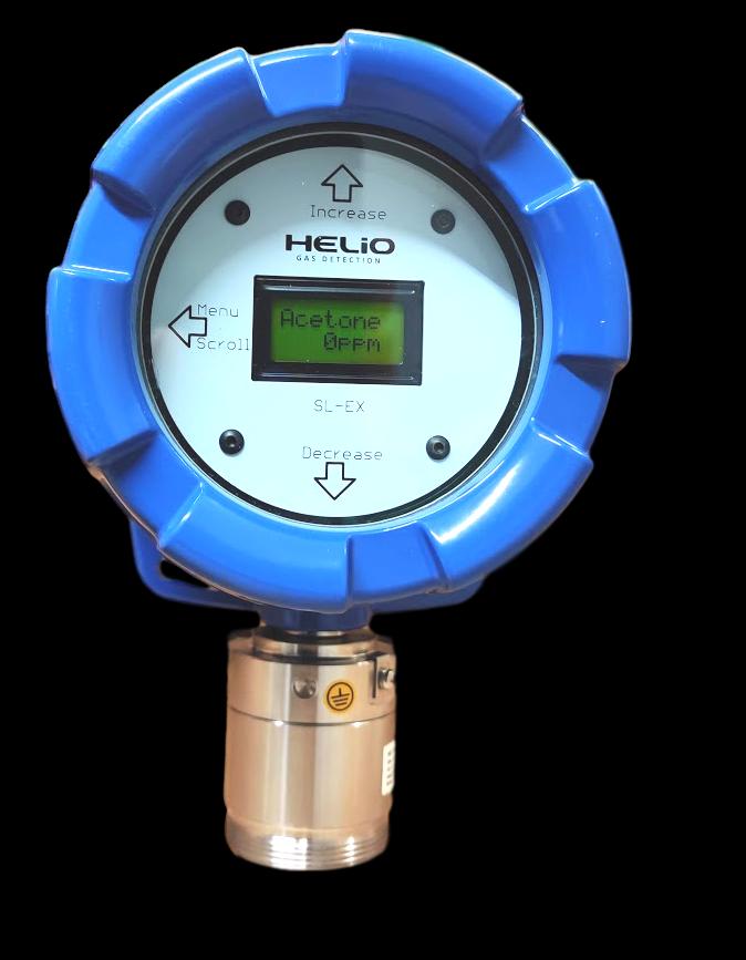 Helio SLEX  Gas Detector