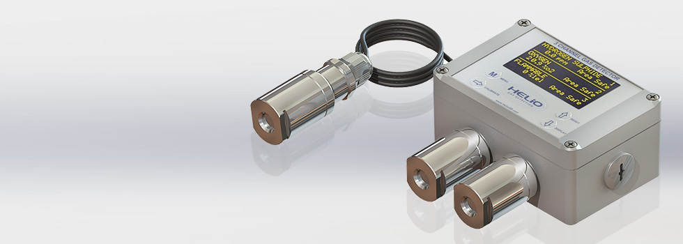 Remotely mount  Gas Sensors