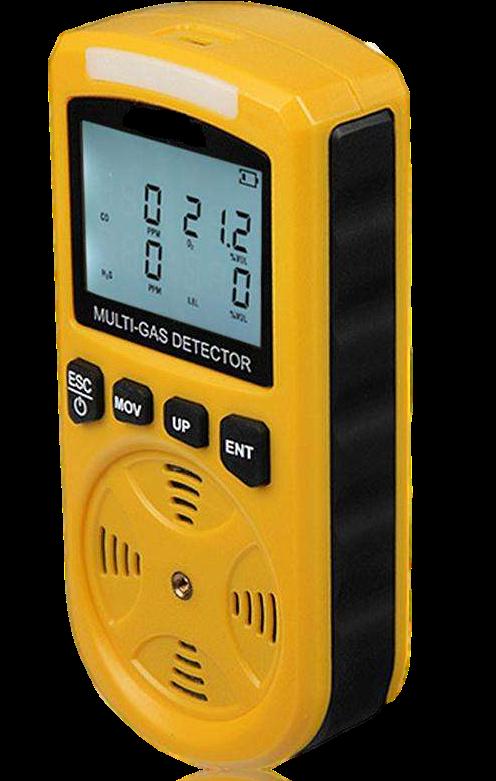 Helio Portable Gas Detector